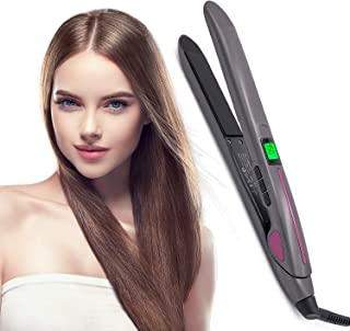 NAIYO Hair Straightening Irons Hair Professional Salon Hair Straightener Argan Oil Tourmaline...