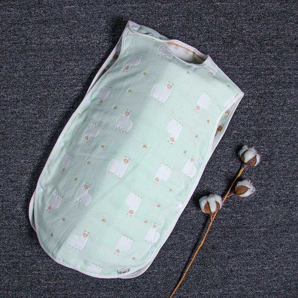Saco de Dormir de Algodón Bio para Bebés,Edredón a Prueba de Patadas para recién Nacidos. Cómodo Saco de Dormir de Verano para bebé-02_40 * 60cm,Saco de Dormir para Bebé Confortable