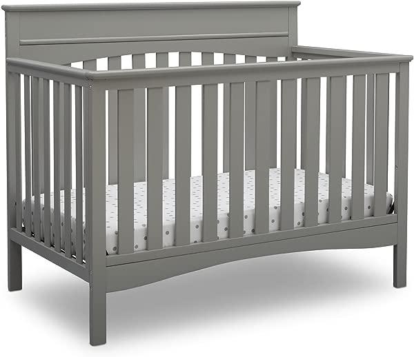 Delta Children Skylar 4 In 1 Convertible Crib Gray