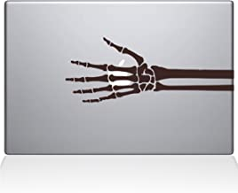"The Decal Guru 2086-MAC-15X-BRO Skeleton Hand X-ray Decal Vinyl Sticker, Brown, 15"" MacBook Pro (2016 & Newer)"