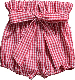 AYIYO Baby Infant Toddler Girls Bowknot Ruffle Bloomers Shorts