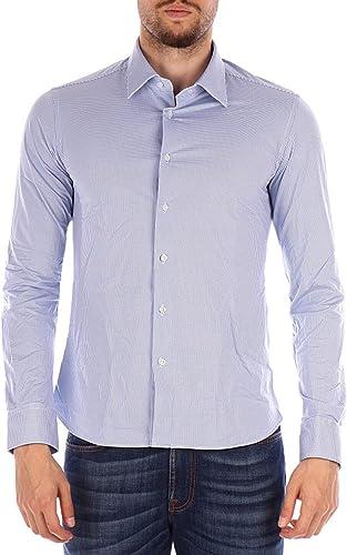 RRD Chemise Shirt Oxford Jacquard Bleu ette