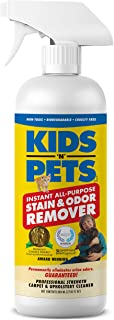 KIDS 'N' PETS Instant All-purpose Stain & Odor Remover – 27.05 oz. - (800 ml) | Proprietary Formula Permanently Eliminates...
