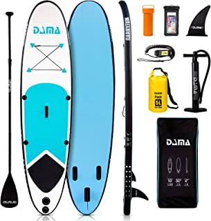 DAMA Inflatable Stand up Paddle Boards (10'), sup Paddle Board,Kids Board, sup..