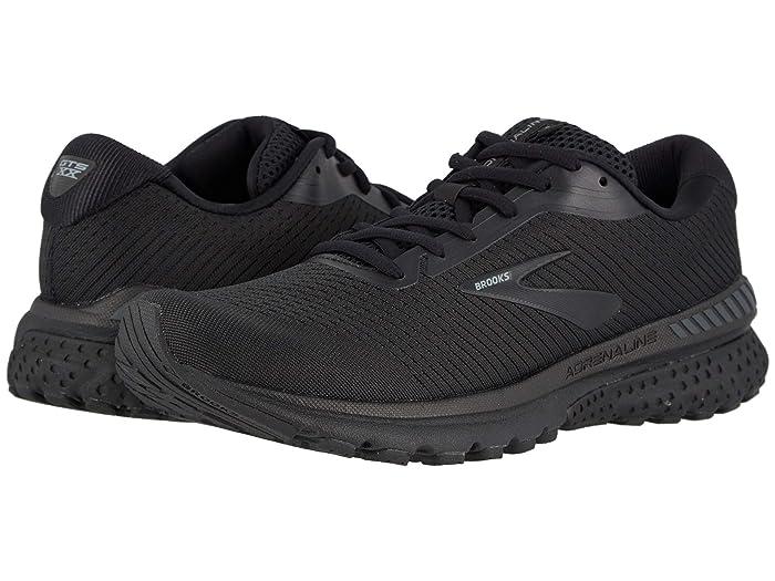Brooks  Adrenaline GTS 20 (Black/Grey) Mens Running Shoes