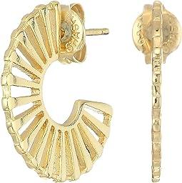 SHASHI - Violet Hoop Earrings