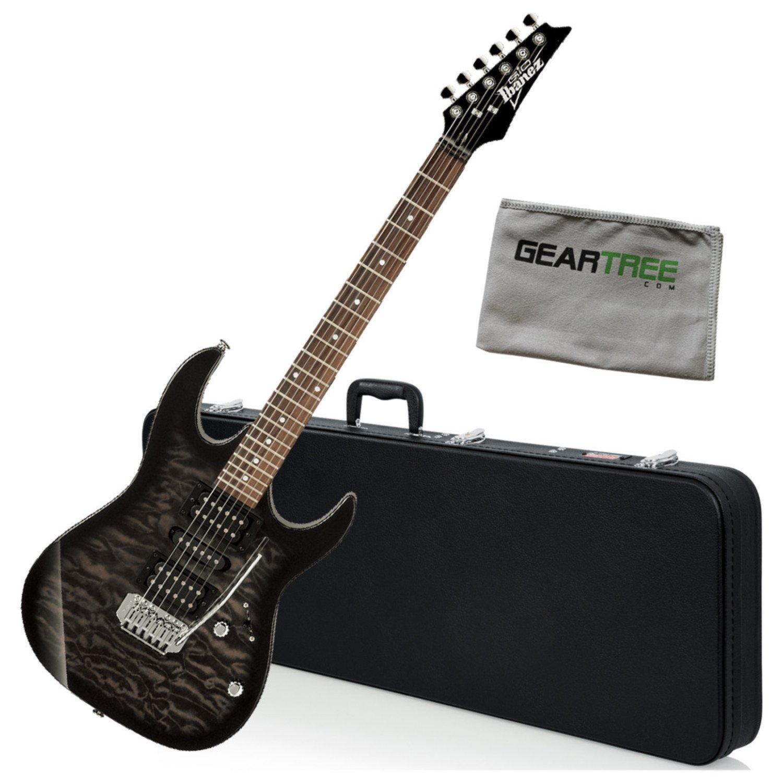 Cheap Ibanez GRX70QATKS GIO RX Electric Guitar Transparent Black Sunburst w/Hard Case Black Friday & Cyber Monday 2019