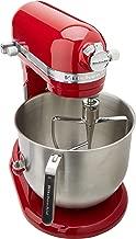 KitchenAid KSM8990ER 8-Quart Commercial Countertop Mixer, 10-Speed, Gear-Driven, Empire Red (Renewed)