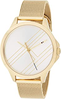 Tommy Hilfiger 1781962 Womens Quartz Watch, Analog Display and Stainless Steel Strap, White