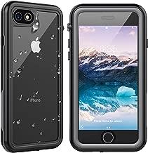 SPIDERCASE iPhone 7/iPhone 8 Waterproof Case, Built-in Protector Full Body Rugged Case, IP68 Waterproof Shockproof Dirtproof Snowproof, Designed for Underwater Activities, for iPhone 7/8, 4.7 Inch