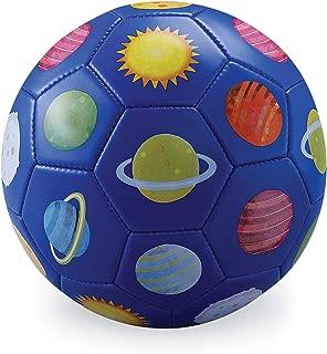 Crocodile Creek 2214-1 3 Blue Soccer Ball Solar System, Size 3, Blue/Red/Green/Yellow/Orange/Pink