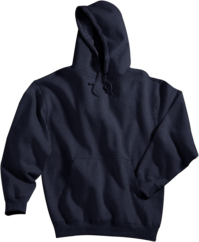 Tri Mountain Premium Hooded Cotton/Polyester Fleece - 689 Perspective