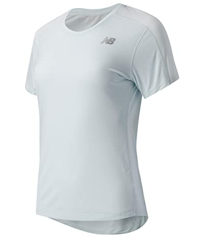 New Balance Impact Run Short Sleeve (Camden Fog) Women