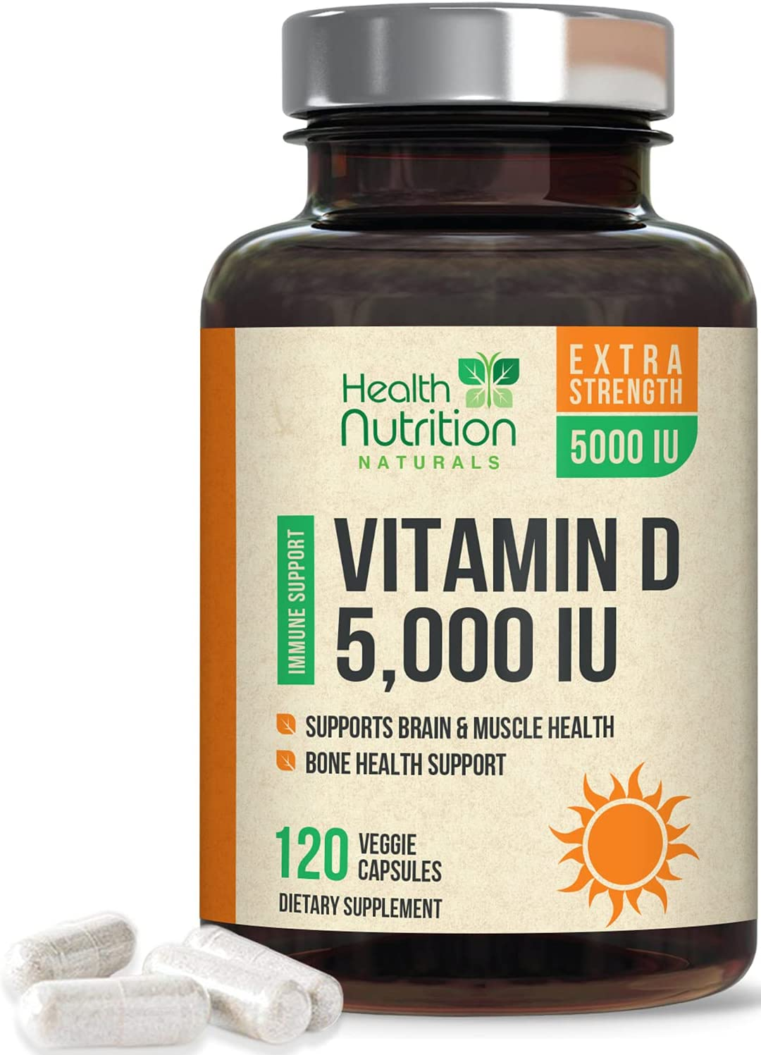 Vitamin D3 Finally popular brand 5 000 iu - Support Immune Highly for Ranking TOP14 Concentrated