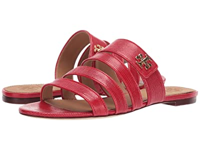 Tory Burch Kira Multi Band Sandal (Ruby Red) Women