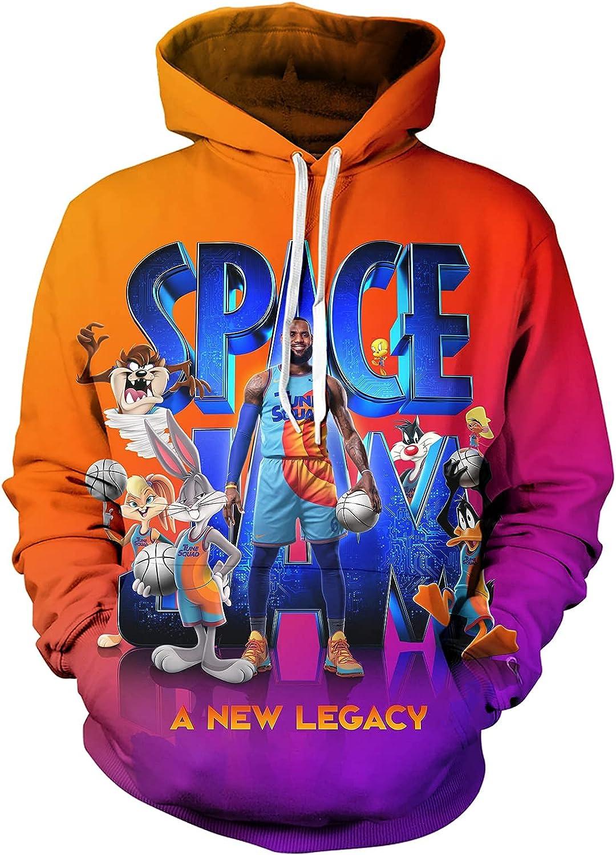 Cartoon a new Legacy Fashion Hoodie 3D Printing Crewneck Hoodie Long Sleeve Sweatshirt For Outdoor Party