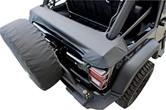 RAMPAGE PRODUCTS 960435 Soft Top Storage Boot for Factory & Replacement Soft Tops on 2007-2018 Jeep Wrangler JK 4-Door, Black Diamond