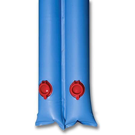 In The Swim 8 Foot Double Water Tubes Winter Pool Cover Weights - Blue - 6 Pack
