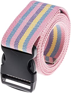 COW&COW Gait Belt 54inch - Transfer and Walking Assistance with Quick Release Buckle for Caregiver Nurse Therapist 2 inches(Rainbow)