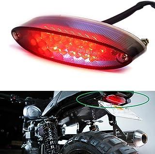 Motorrad Rücklicht, 28 LED Motorrad Running Stop Bremse Nummernschild Rücklicht