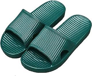 APIKA Pantoufles Antidérapantes pour Femmes Et Hommes Usage Intérieur Usage Extérieur Bain Sandal Soft Foam Sole Chaussure...