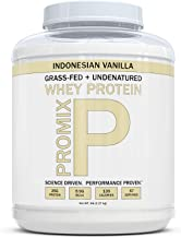 Sponsored Ad - ProMix Nutrition Grass Fed Whey Protein, Vanilla, 5 lb