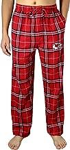 Mens KC CHIEFS Winter Plaid pajama/Lounge Pants Multicolor