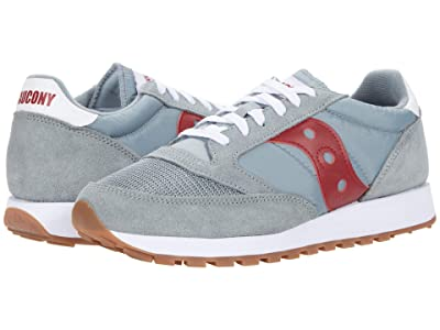 Saucony Originals Jazz Original Vintage (Grey/Red) Men