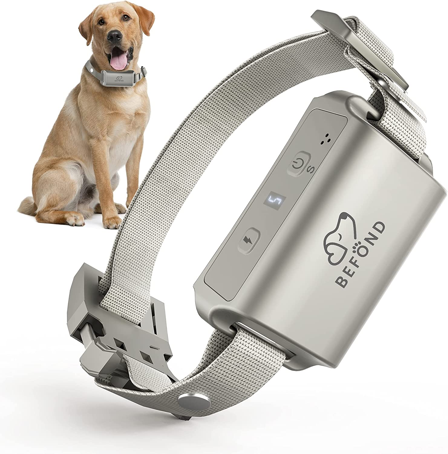 OFFicial mail order Bark Collar Special Campaign for Dogs Anti 3 Adjust Training Barking with