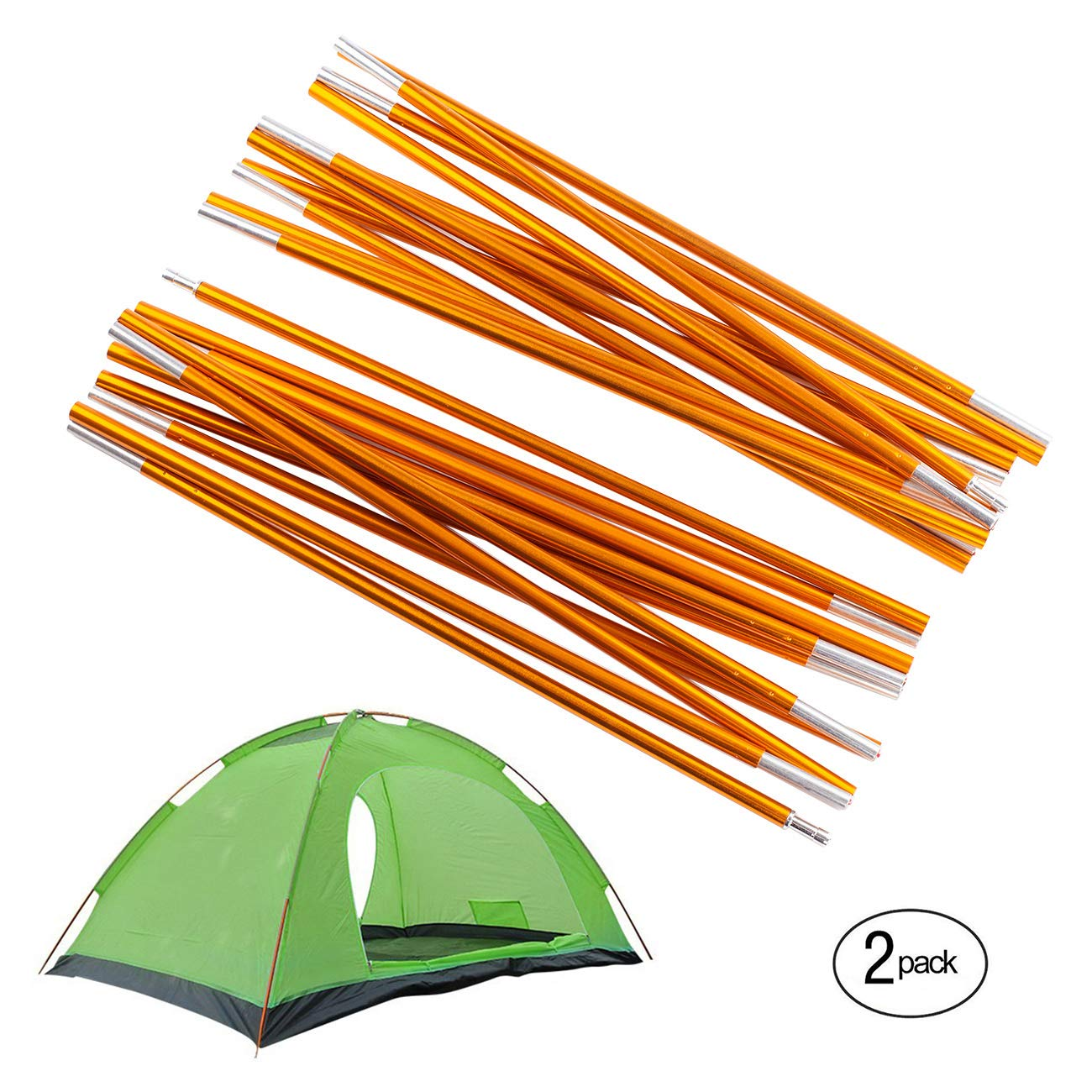 Overmont Adjustable Tarp and Tent Poles 360cm/142in Aluminum Alloy Outdoor C&ing Tent Tarp Rod  sc 1 st  Amazon UK & Tent Pole Replacements: Amazon.co.uk