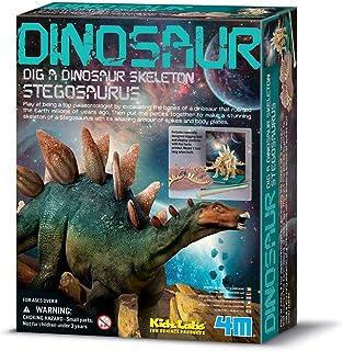 4M 3229 Dig a Stegosaurus Dinosaur Skeleton Kit, Multi Color
