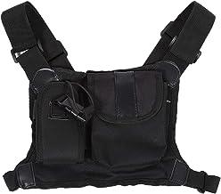 Borstharnaspakket, comfortabel, duurzaam radio-accessoirezakje Borstvoorpakket met veiligheidsprestaties voor bouwplaatsen
