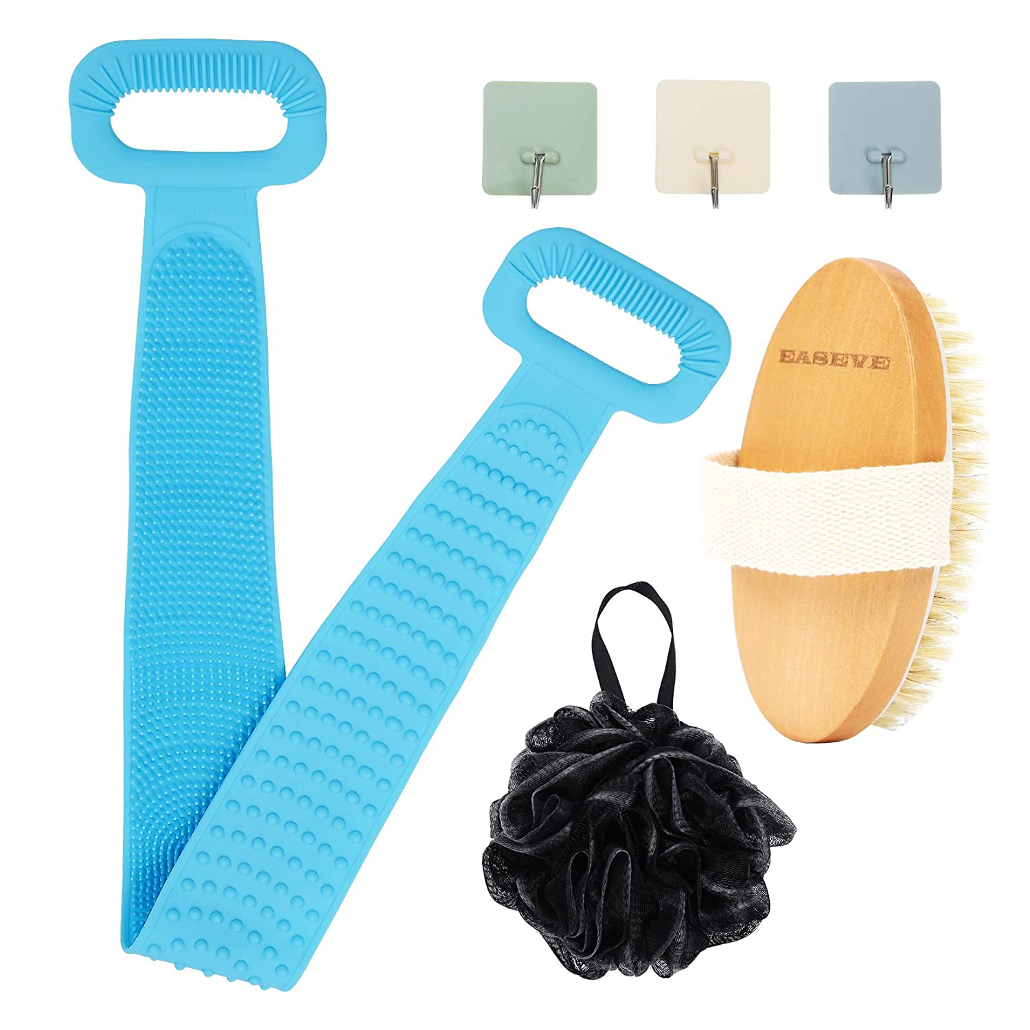 Silicone Back Scrubber for Shower Brushing S Bath Dry Loofah Ranking TOP10 Max 89% OFF