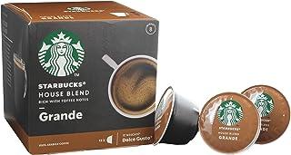 STARBUCKS New! NESCAF? Dolce Gusto Grande House Blend - 12 Capsules/Servings - Espresso - Grande - Lungo - 100% Arabica