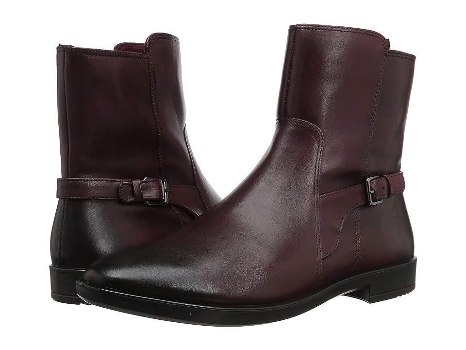 ECCO Shape M 15 Boot (Bordeaux Full Grain Leather) Women