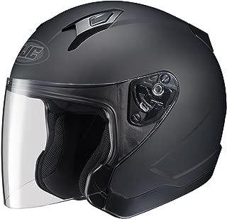 HJC Solid CL-Jet Half (1/2) Shell Motorcycle Helmet - Black/Large