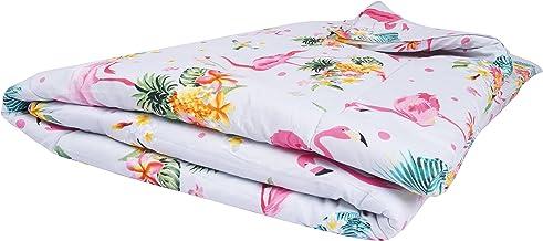 Floral 6Pcs Comforter Set By Million, King Size, Cotton, Medium Filling, P-105