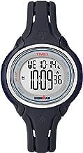 Timex Mid-Size Ironman Sleek 50 Round Silicone Strap Watch