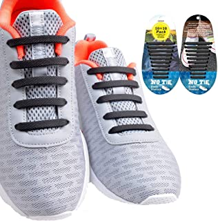 No Tie Shoelaces for Kids and Adults, Elastic Silicone No Tie Laces for Sneaker