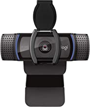 Logitech C920S HD Pro Webcam with Privacy Shutter - Widescreen Video Calling and Recording, 1080p Streaming Camera, Desktop or Laptop Webcam