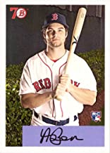 2017 Topps Throwback Thursday TBT #77 Andrew Benintendi Baseball Rookie Card - 1954 Bowman Design - Only 1,475 made!