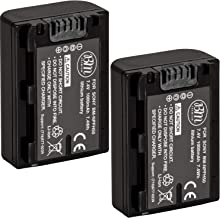 BM Premium 2-Pack of NP-FH50 Batteries for Sony Alpha DSLR-A230 DSLR-A290 DSLR-A330 DSLR-A380 DSLR-A390 Digital SLR Camera