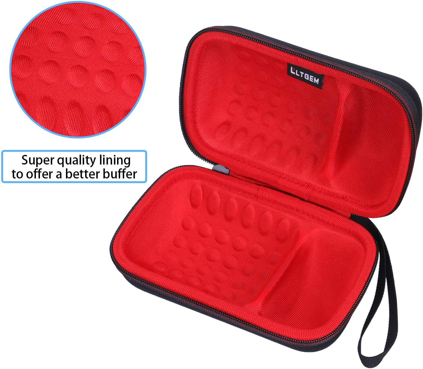- LTGEM EVA Hard Case for Ultimate Ears WONDERBOOM 2 Red Fits USB Cable and Charger. Case for Ultimate Ears WONDERBOOM 2