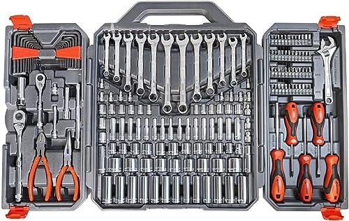 Crescent 180 Pc. Professional Tool Set in Tool Storage Case - CTK180