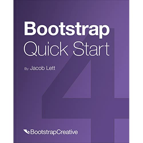Amazon com: Bootstrap 4 Quick Start: Responsive Web Design