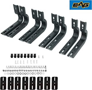 EAG Running Boards Nerf Bars Bracket only & Hardware Mounting Kit Fit for 04-14 Ford F-150