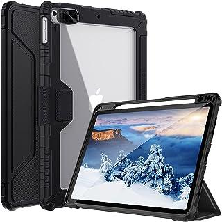 جراب Nillkin لجهاز iPad 8th - 7th Generation 10.2 inch 2020-2019 ، [غطاء كاميرا منزلق ، حامل أقلام مدمج] غطاء واقٍ ذكي من ...