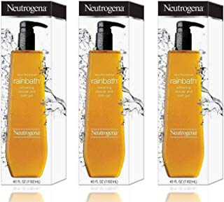 Neutrogena Rainbath Refreshing Shower and Bath Gel- 40 Oz THREE PACK 120 Oz Total by Neutrogena BEAUTY