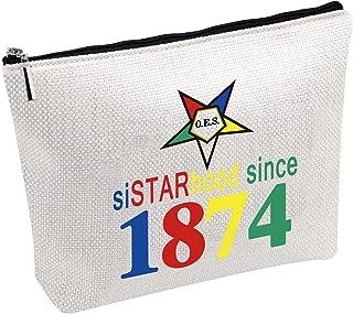 حقائب مستحضرات التجميل ستارز إيسترن ستارز ترافل ميك أب سيسترهود منذ عام 1874 أو إي إس حقيبة هدية لها
