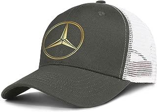 Men's Fashion Baseball Cap Designer Trucker Vintage Hat Mercedes-Ben-Original-Logo-Mercedes-Benz- Custom Cotton Caps